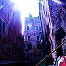 gondolas photography buildings light flare by xxnatbxx