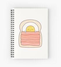 Cuaderno de espiral cama y desayuno
