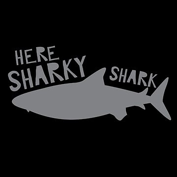 Here sharky, Shark by jazzydevil