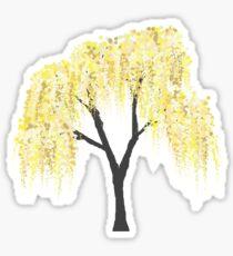 Yellow Willow Sticker