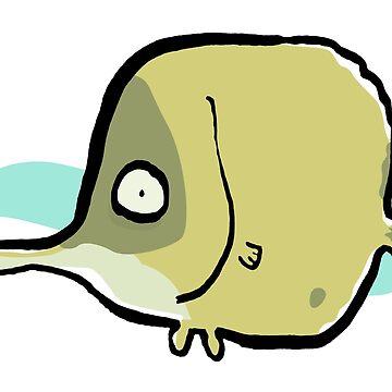 forceps fish by greendeer