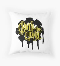Crown the empire-The Cog and Crown Throw Pillow