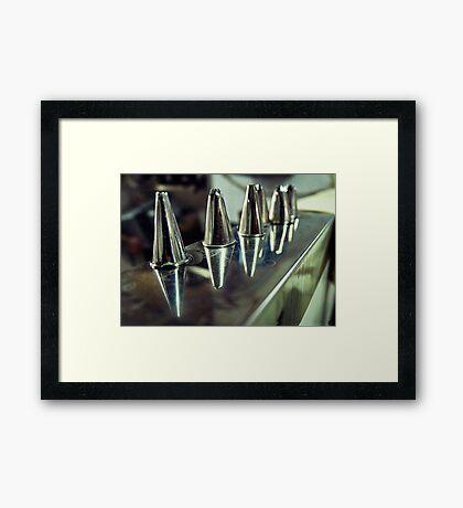 Giolitti's Brushes Framed Print