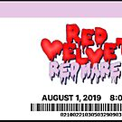 Red Velvet Konzertticket von uyuchu