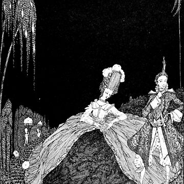 Riquet With a Tuft - Harry Clarke by forgottenbeauty