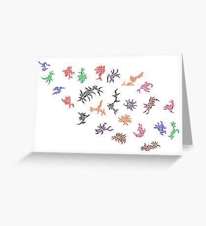 Congregate Greeting Card