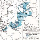 Teutonic Order...Map 14th century  by edsimoneit
