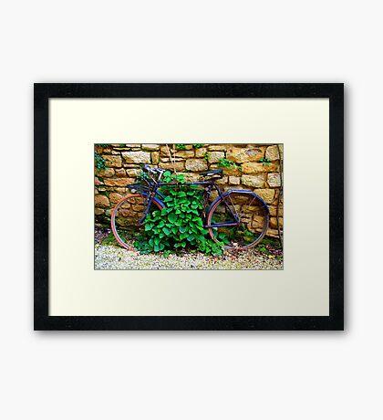 A return to nature (Sarlat) Framed Print