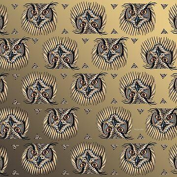 Owl Pattern by Free-Spirit-Meg