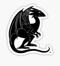 The Smirking Dragon Sticker
