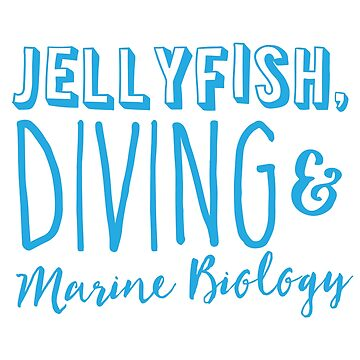 Jellyfish, Diving and Marine Biology by jazzydevil