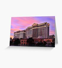 Caesar Sunset Greeting Card
