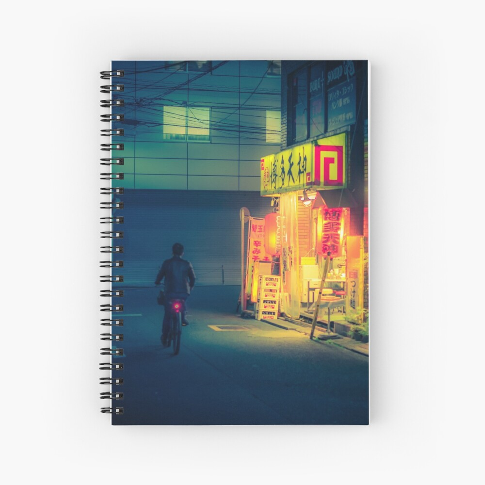 Open all night Spiral Notebook