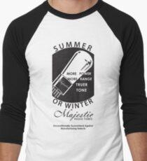 vintage radio tubes ad Baseball ¾ Sleeve T-Shirt