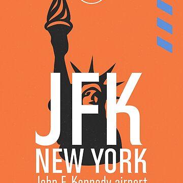 Airport JFK New York by Aviators