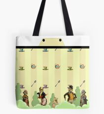 Garden Party is the Cat's Meow Tote Bag