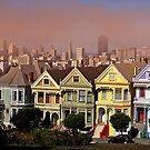 Painted Ladies of San Francisco by Robert C Richmond