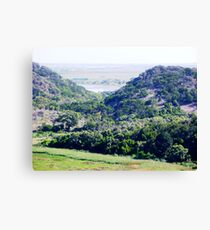 Tower Hill inactive Volcano 1. Canvas Print