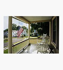 Small Town USA ~ Fourth of July Photographic Print