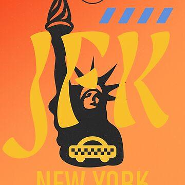 JFK airport New York 400 by Aviators