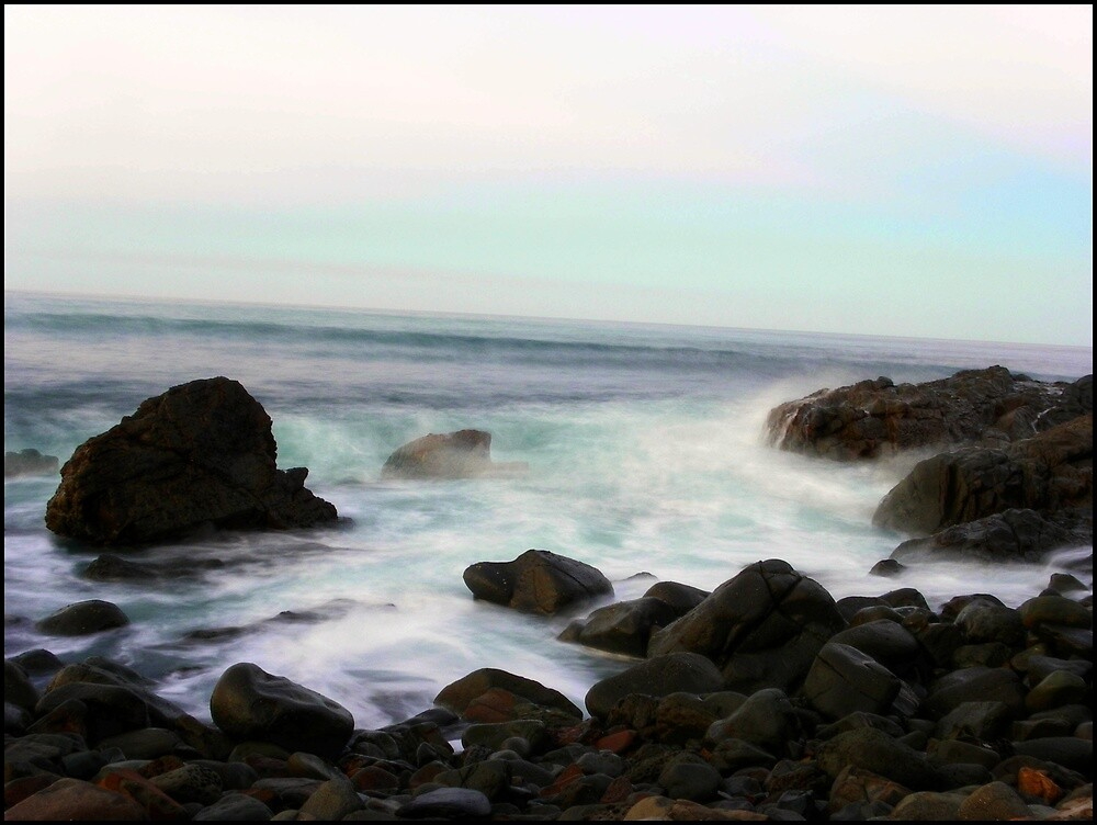 Saltwater, Jump Rock. by Tyhe  Reading