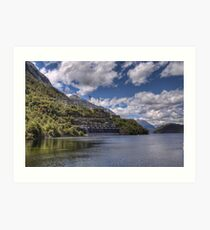 Manapouri Power Station, West Arm Art Print