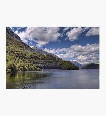 Manapouri Power Station, West Arm Photographic Print