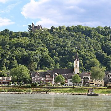 Castle Osterspai on the Rhine by stine1