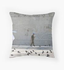 Change of Guard  Throw Pillow