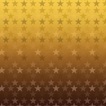 Yellow stars pattern by Anteia
