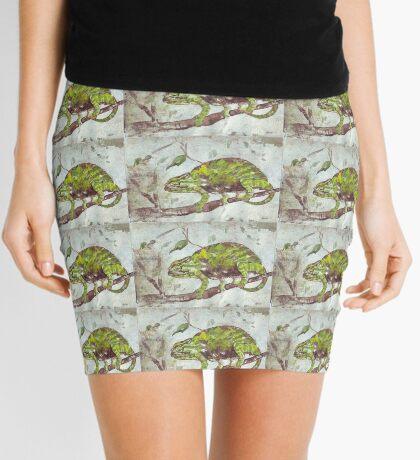 Chameleon (Chamaeleonidae) Mini Skirt