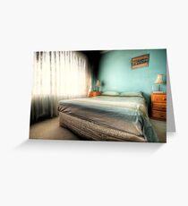 Bedroom Greeting Card