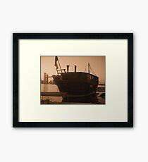 The Floating Diner Framed Print