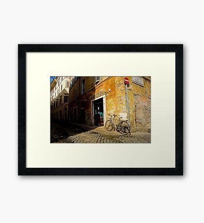 Margana Bike Framed Print