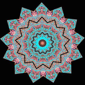 PINK Mandala  by kayden