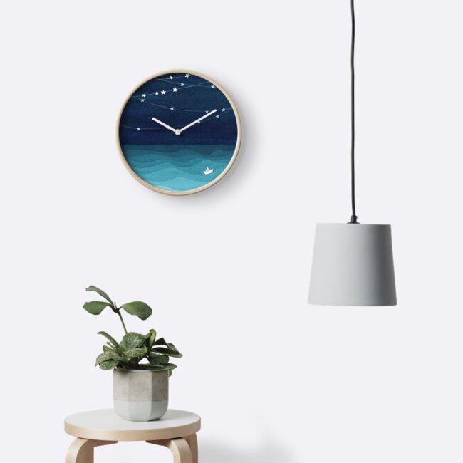 «Guirnalda de estrellas, océano verde azulado» de VApinx