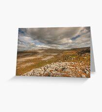 Scenic Burren Landscape Greeting Card