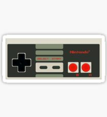 NES-Controller Sticker