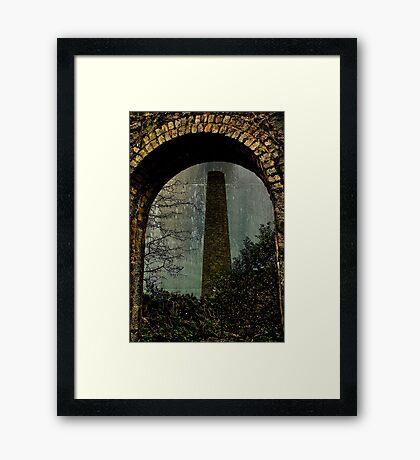 Over Mine Framed Print