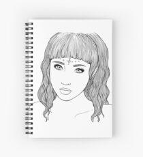 Doll Spiral Notebook