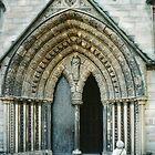 North Door Lichfield England 198409260 035  by Fred Mitchell