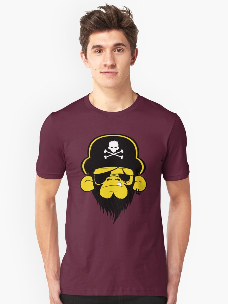 Pirate Monkey by Chris Sinaga