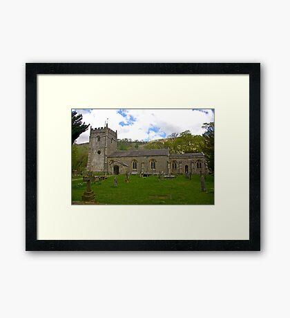 St Oswald's Church - Arncliffe Framed Print
