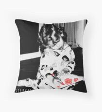 ~FLOWERS FROM THE HEART~ Throw Pillow