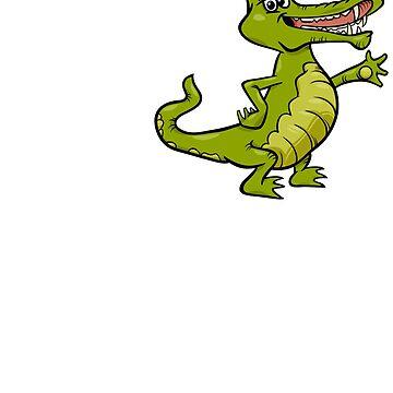 I Love Alligators by TrendJunky