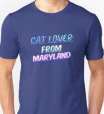 Hundeliebhaber aus Maryland Slim Fit T-Shirt