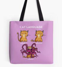 Cat Language - Flerken Tote Bag
