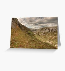 Black Head landscape Greeting Card