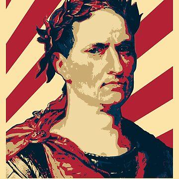 Julius Caesar Retro Propaganda by idaspark