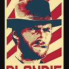 Clint Eastwood Blondie Retro Propaganda by idaspark